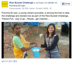 Rice Bucket Challenge - Facebook Page