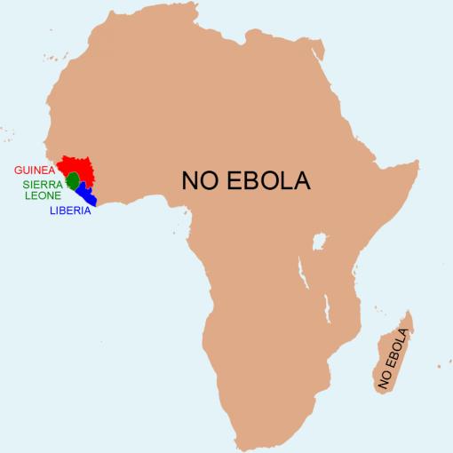 carte ebola
